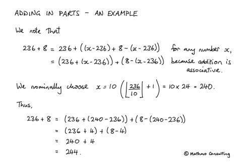 Adding in Parts - An Example