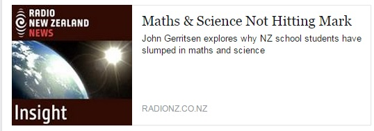 RadioNZ-maths-science-not-hitting-mark
